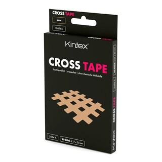 Cross Tape A, B, C in Pink, Blau, Beige