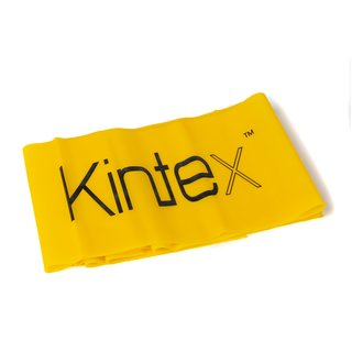 Kintex Fitness band yellow (thin)