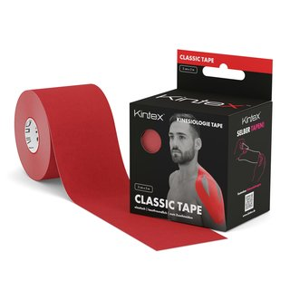Kinesiology Tape 5cm x 5m Classic Red