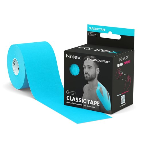 Kinesiology Tape 5cm x 5m Classic Blue